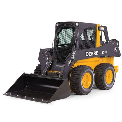 Part of the highly detailed Prestige Collection. Features include die-cast body and loader arms, operating loader and bucket, interchangeable bucket and fork attachments, removable side engine panels,