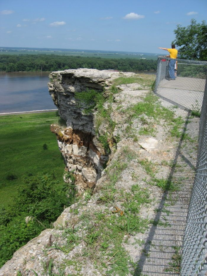 13. Lover's Leap - Hannibal, MO