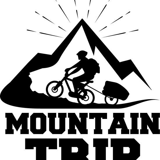 #Mountain #trip #bike #design #redbubble #tshirt