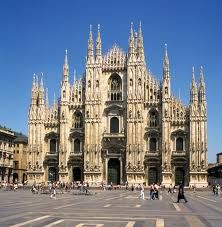 Milan Duomo- there is a rooftop elevator to view the city