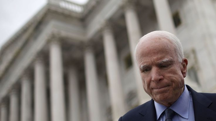Arizona senator John McCain has been an influential national figure since his first run for president.