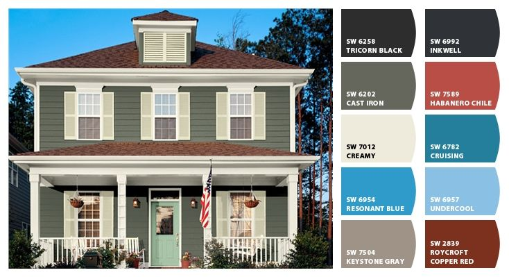 Best Paint Colors From Chip It By Sherwin Williams Below Are 400 x 300