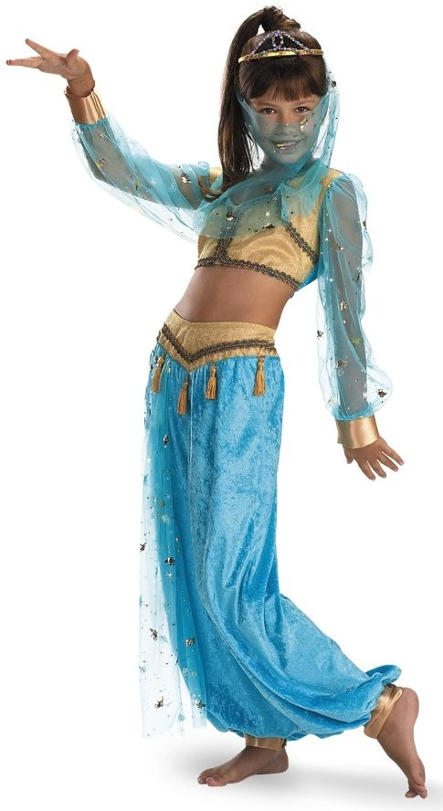 177 best arabian night images on pinterest arabian party arabian your girl will get her wish in this elegant genie costume gold top with sheer turquoise sleeves and gold cuffs comes with flowy turquoise harem pants with solutioingenieria Gallery
