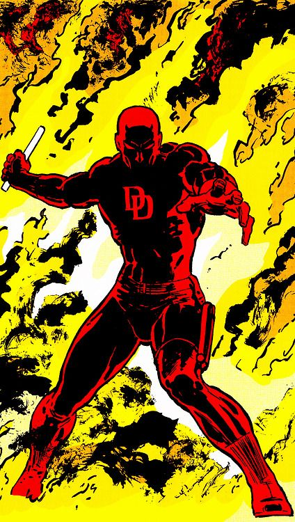 """""""A man without hope…is a man without fear.""""  Frank Miller David Mazzucchelli Daredevil: Born Again"""