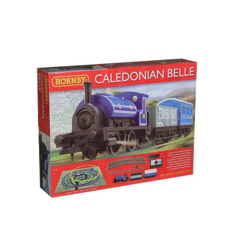 Luville - Blauwe Stoom Locomotief - FelinaWorld