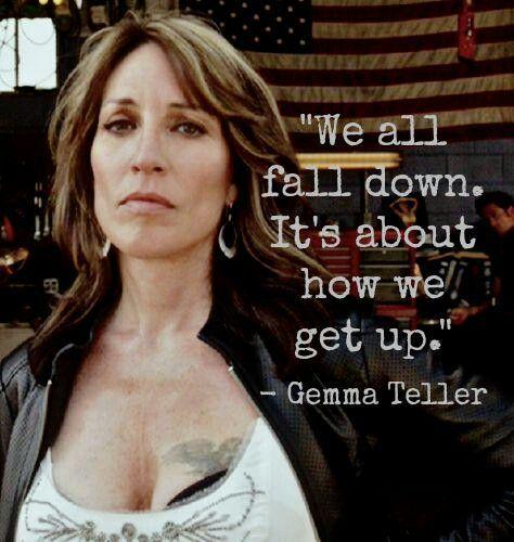 Love Gemma's words of wisdom