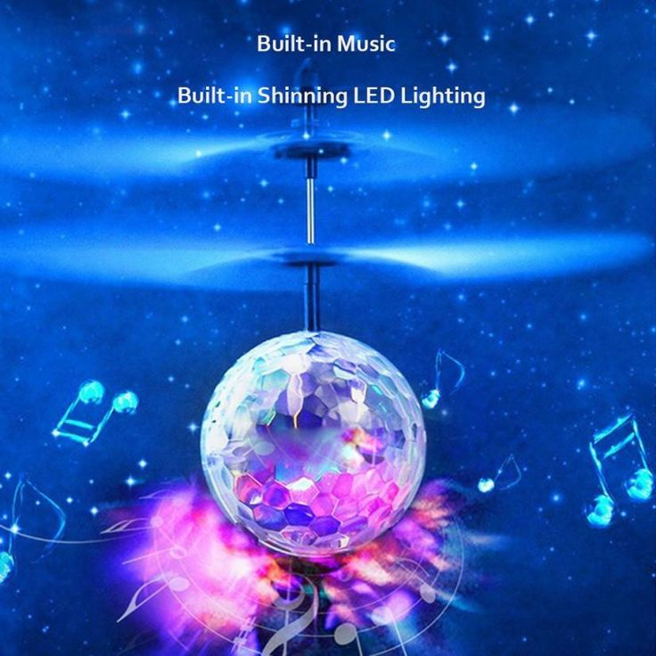 Light Up Any Room And Fun For The Whole Family! This Flying Luminous Magic Ball is a new-age upgrade to the traditional flying helicopter, and fun for the whole