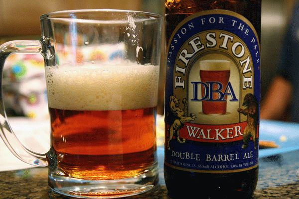 I love this beer, Firestone Walker DBA...go to the brewery and you can get it unfiltered, it's amazing!