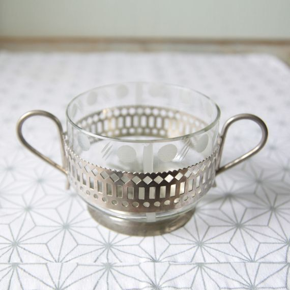 Tsarist Sugar Bowl from 60's
