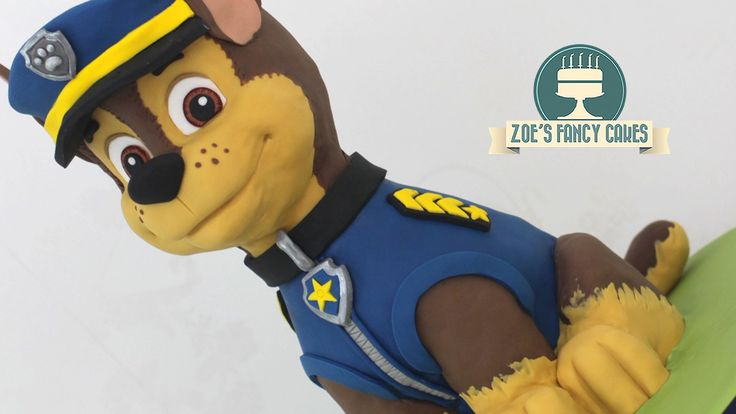 Large 3D Paw Patrol cake of Chase tutorial! In this video I attempt to create a large 3D cake of chase from Paw Patrol. This was one of my first attempts at ...