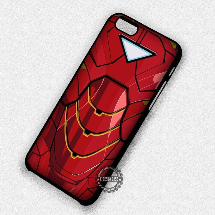 Metal Suit for Hero Iron Man - iPhone 7 6S  5C SE Cases & Covers