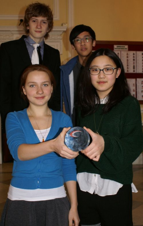 A team of four from Concord, one of independent boarding schools,  is through to the regional final of the Year 10 Mathematics Competition 2014.  http://www.concordcollegeuk.com/news-and-events/news28/