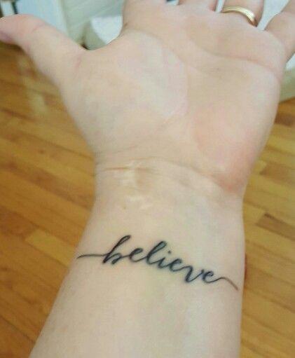 Highland Ink-Arlington, VA My awesome Tattoo Artist-Susie! www.highlandink.us Believe tattoo