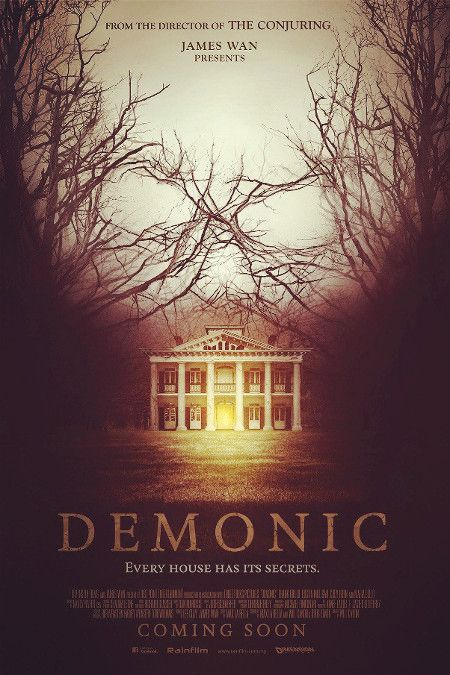 Demonic Cover Poster Art- Such a great demonic film with a good twist at the end. Highly recommend this movie!