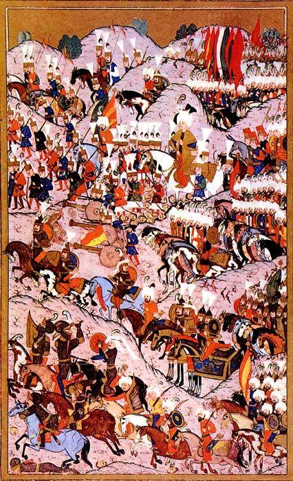 Kanuni Sultan Süleyman ve Mohaç Savaşı (Hünername) matrakçı nasuh