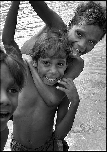 Beautiful Aboriginal Australian children