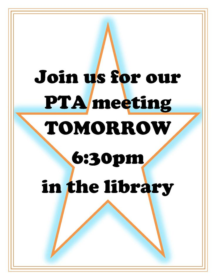Best  Pta Meeting Ideas On   Pta Pto Meeting And Pto