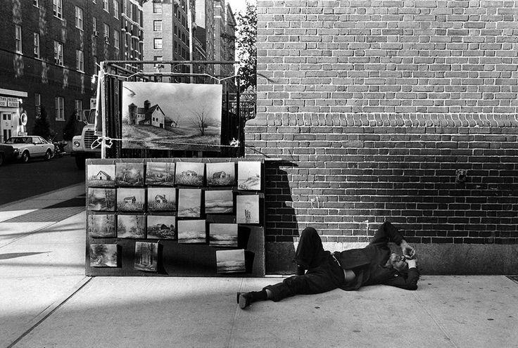 Jill Freedman. Surf'n Turf, New York, 1979