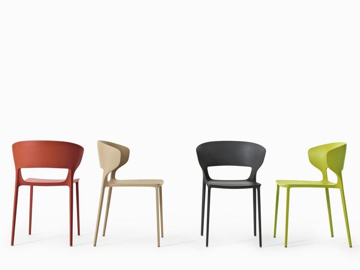 KOKI Sedia by Desalto design Claudio Dondoli, Marco Pocci