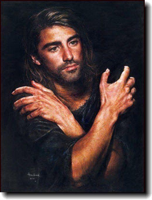 painting by Akiane Kramarik of Jesus