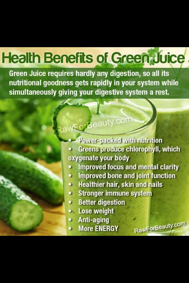 Health Benefits of Green Juice Raw for beauty