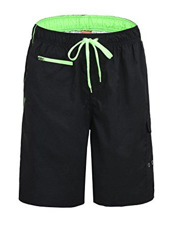 041d1a31db Unitop Men's Assorted Lightweight Swim Trunks Quick Dry Board Shorts Review