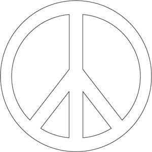 Hosting free printable peace sign coloring pages medicare gaps 60s neon theme pinterest - Dessin peace and love ...