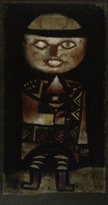 * Acteur, par Paul Klee  1923