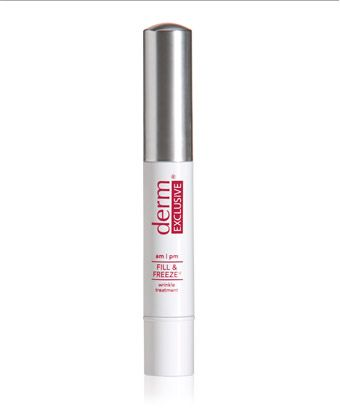 Derm Exclusive Fill & Freeze pen Immediately reduces the look of wrinkles, frown lines, and smile lines. It's the secret weapon that gives injections and fillers a run for their money.Antiaging Beautiful, Filling Freeze, Derm Exclusively, Breakthrough Products, Dark Circles, Beautiful Skincare, Appearances, Exclusively Filling, Instant Plump