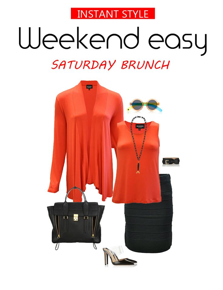 Here's some weekend inspiration. Do you plan your outfits ahead of time?