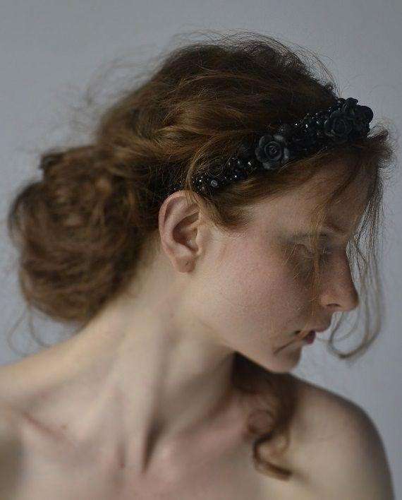 headpiece  beads  http://www.lucjazajac.com https://www.facebook.com/lucjazajacatelier