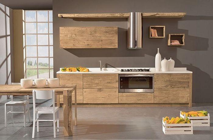piano cucina legno grezzo - Google Search nel 2019 | Piani ...