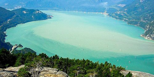 Stawamus Chief Provincial Park - on the way to Whistler