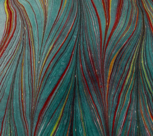 Marbled Paper by Catherine Packler of  Purple Butterfly Design