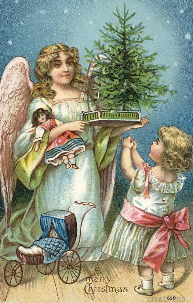 постоянно развиваемся, старинные открытки с католическим рождеством же, первую