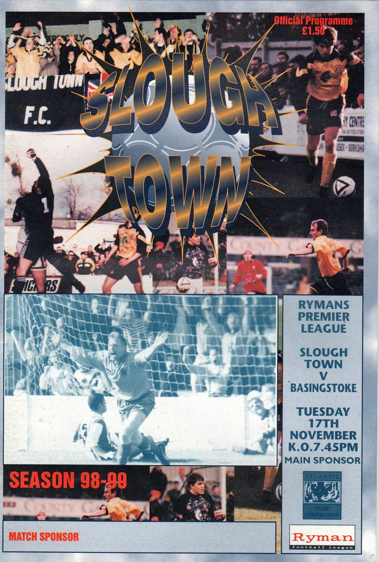 Slough Town FC in Beaconsfield, Buckinghamshire