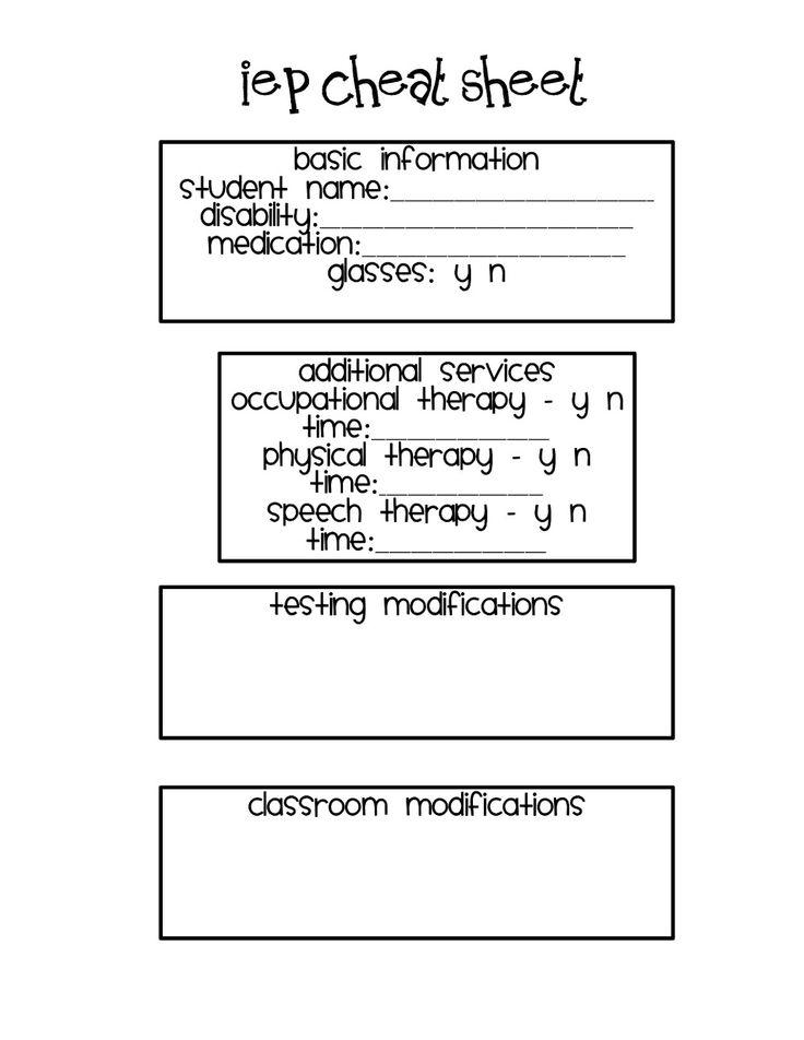 IEP cheat sheetClassroom Freebies, Stuff, Teaching, Schools, Special Education, Cheat Sheets, Iep Cheat, Classroom Ideas, Classroom Teachers
