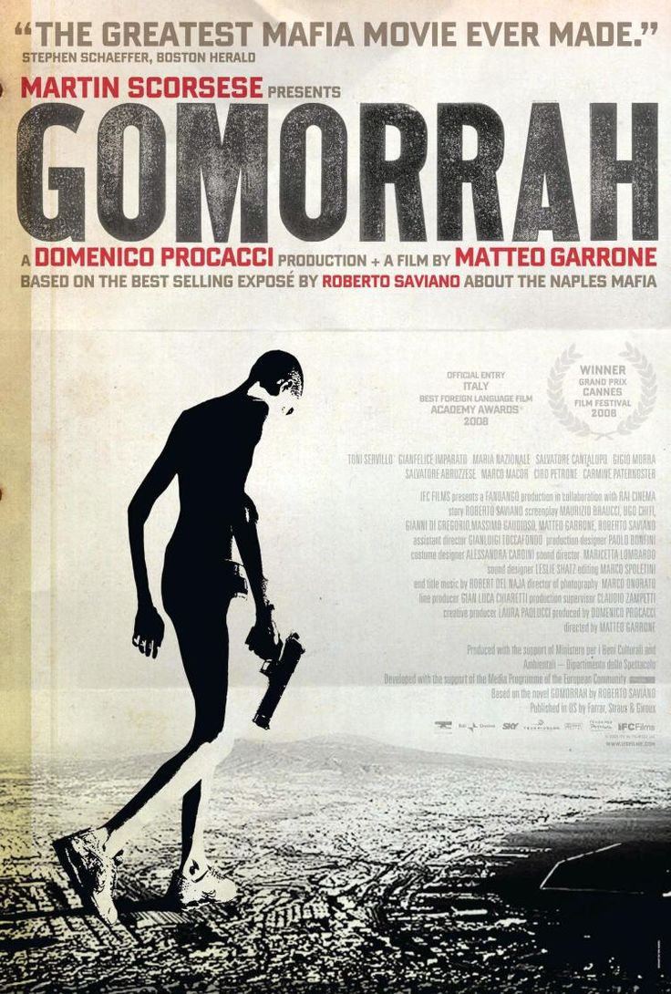 Gomorrah, great film, outstanding book