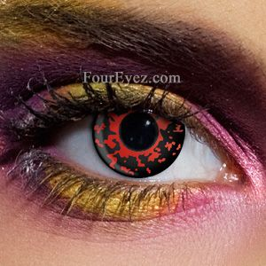 Lava Scary Contact Lenses (Pair)