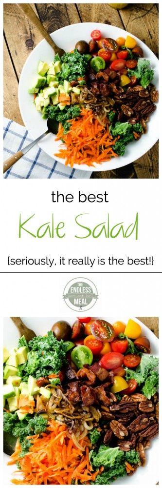 The Best Kale Salad | theendlessmeal.com