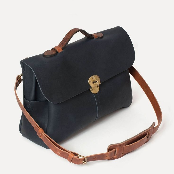 Men's Laptop Bags | Leather Briefcase  | Bleu de chauffe