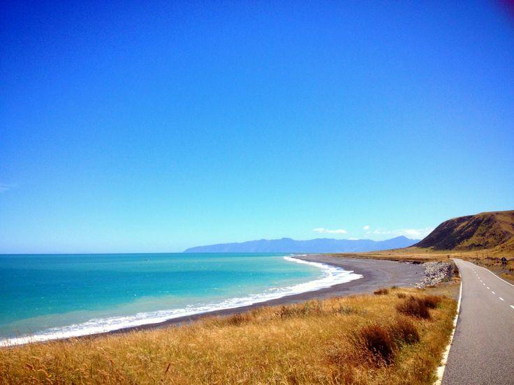 Ngawi coast. New Zealand.
