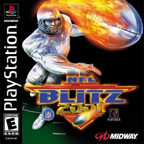 NFL Blitz 2001 - PS1 Game