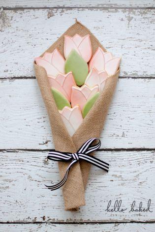 tulip cookies - hello baked