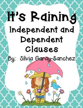 Are your students having trouble differentiating between independent and dependent clauses?  This set of posters and task cards/scoot can be used to help your students practice or reinforce this skill.  This set includes posters for: dependent clause, independent clause, subordinate conjunction, complex sentence, and clause.