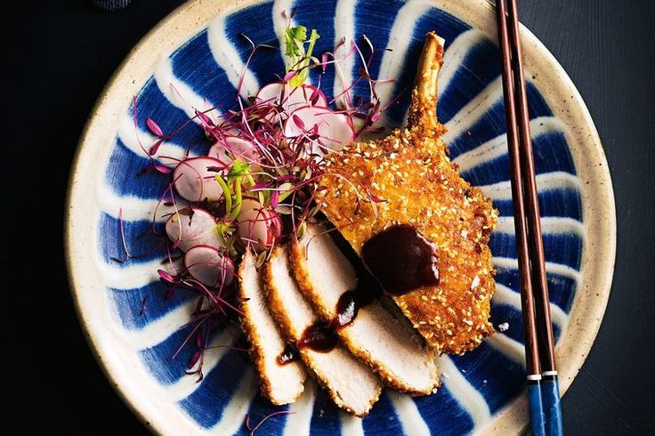 Master this Japanese classic, with a fresh radish salad. Serve with miso soup and steamed rice to recreate a typical restaurant spread.