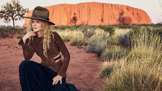Nicole Kidman reveals secret gesture she made to struggling young boy as part of Vogue outback shoot.