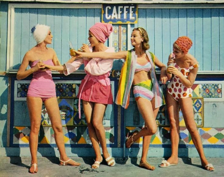 vintage everyday: Fashion in the 1960s