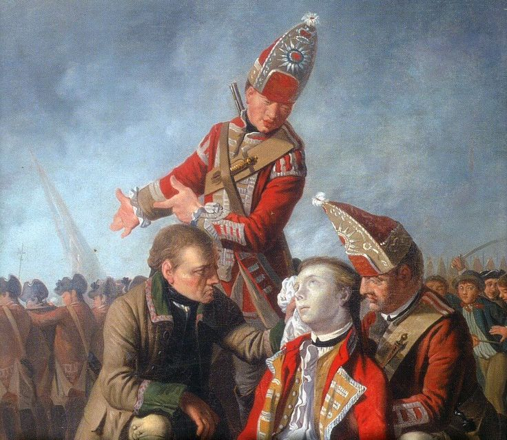 Death of General Wolfe, Battle of Quebec, Seven Years War
