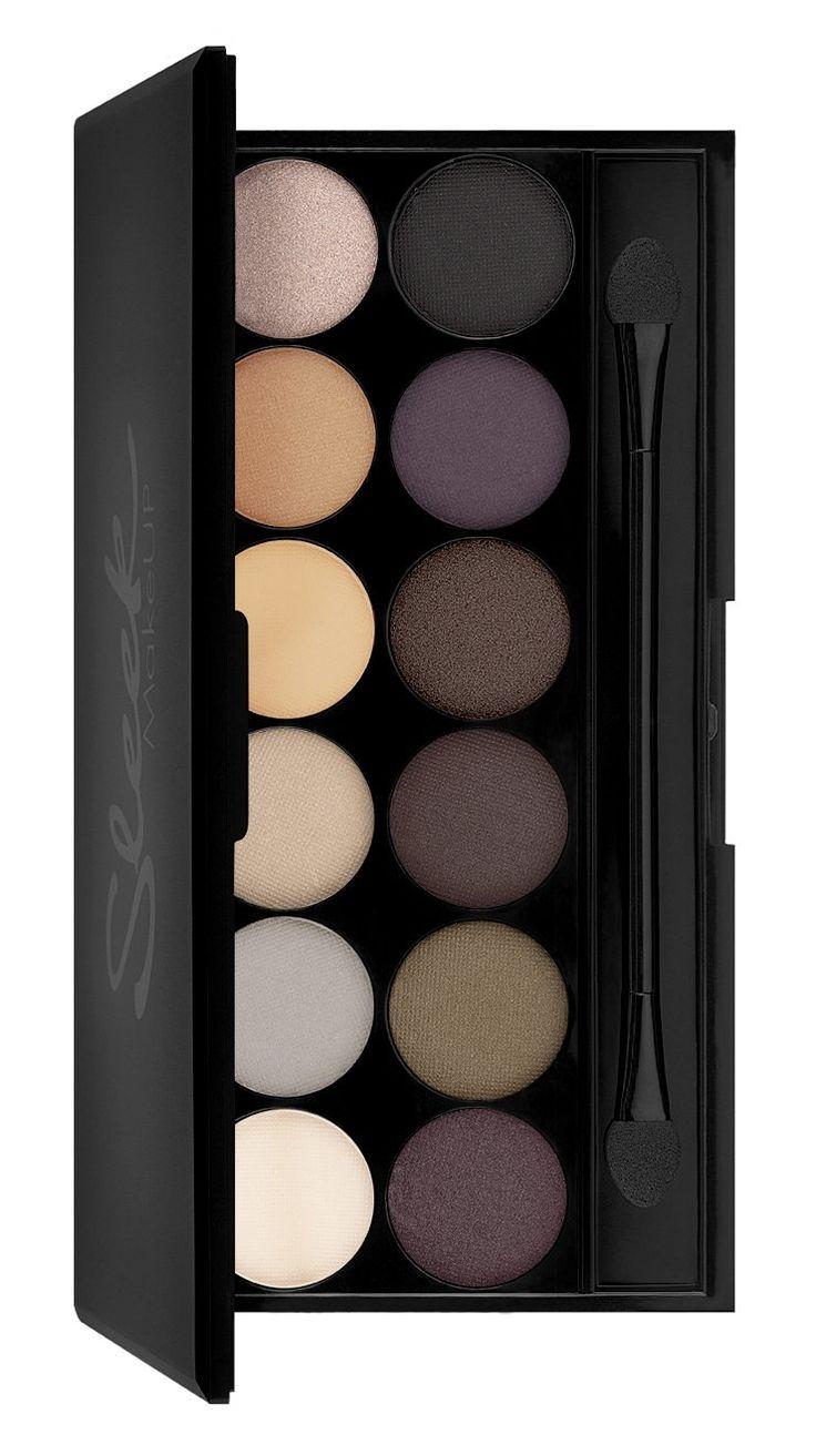 Sleek Makeup i-Divine Lidschatten Palette Au Naturel mit Spiegel 13.2 g, 1er Pack (1 x 13 g): Amazon.de: Parfümerie & Kosmetik